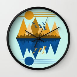 Flying South Wall Clock