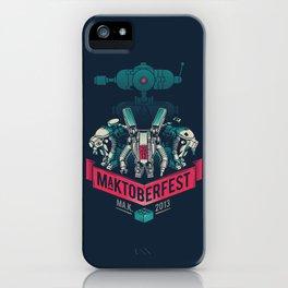 MaKtoberfest 13 iPhone Case