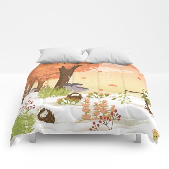 Cloudseeders Autumn Harvest Comforters