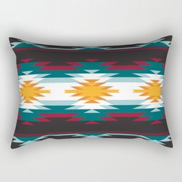 Native American Inspired Design Rectangular Pillow