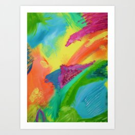 """Bright-Frustration"" Art Print"
