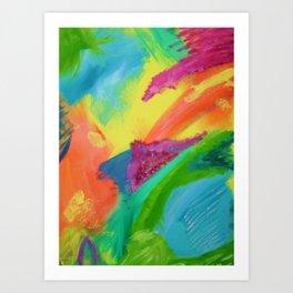 """Bright-Frustration"" Art Print"