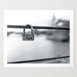 Love Locks 2012 09 Art Print