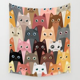 Cats Pattern Wall Tapestry