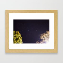 Night Sky Framed Art Print