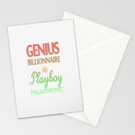 GENIUS TONY Stationery Cards