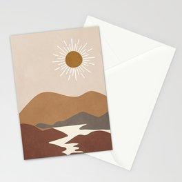 Minimalistic Landscape II Stationery Cards