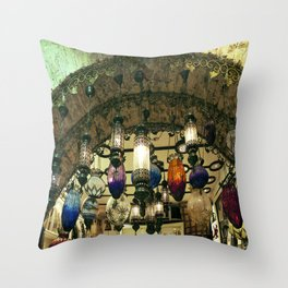 Turkish Lanterns! Throw Pillow