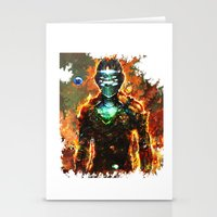 dead space Stationery Cards featuring dead space by ururuty