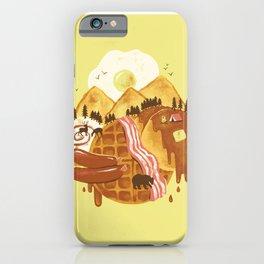 Breakfastscape iPhone Case