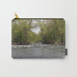 Springtime on the Fox River Carry-All Pouch
