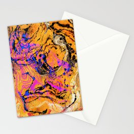 Flamingos and Tigers Stationery Cards