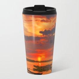 Sunset in Hoi An Vietnam Travel Mug