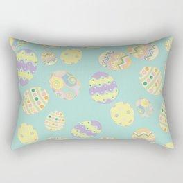 Pastel Easter Eggs Rectangular Pillow