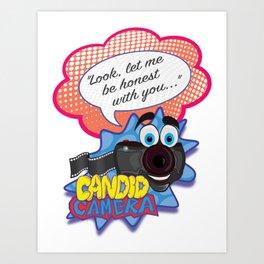 Candid Camera Art Print