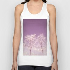 Winter's longing ~ Abstract  Unisex Tank Top