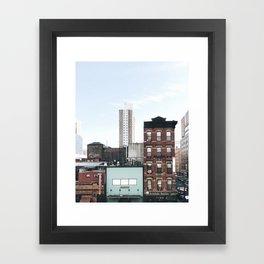 From the Highline / New York City Framed Art Print