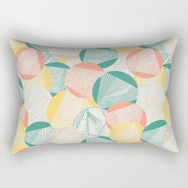 Tangent (Teal) Rectangular Pillow