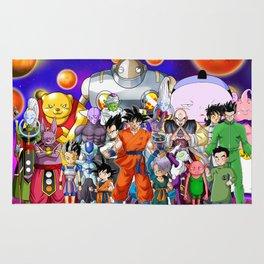 Dragon Ball Super mix Rug