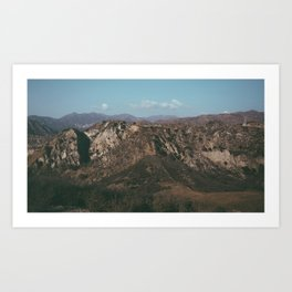 Angels National Forest 2 Art Print