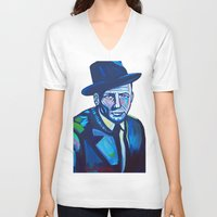 frank sinatra V-neck T-shirts featuring Frank Sinatra by camilletheriot