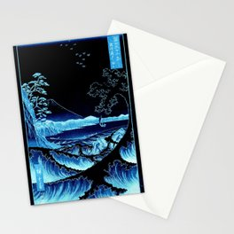 The Sea at Satta : Blue Stationery Cards