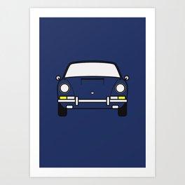 Porsche 911 1969 Art Print