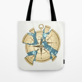 Beneath the Ripples of Existence (There's a Journey Called Life) Tote Bag