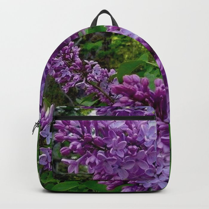 Lilacs in Bloom Rucksack