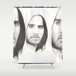 jared leto... Shower Curtain