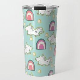 Cereal for Dinner - Unicorns Travel Mug