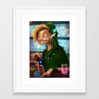 hyrule Framed Art Prints featuring HYRULE CORP. by zero-scarecrow13