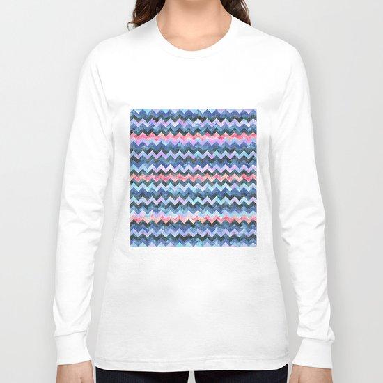 Zig Zag Chevron Long Sleeve T-shirt