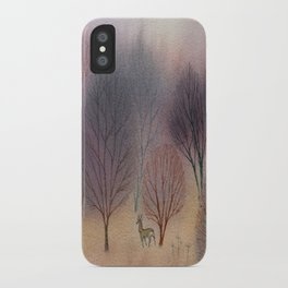 November Woods iPhone Case