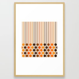 Golden Sixlet Framed Art Print