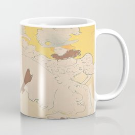 Vintage poster - Troupe de Mlle Eglantine Coffee Mug