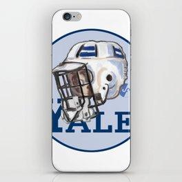 Yale Bulldogs Bucket Helmet iPhone Skin