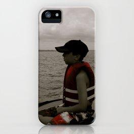 Aidan White iPhone Case