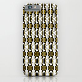 We Hold the Key 2- Gold the Digital Maori collection iPhone Case