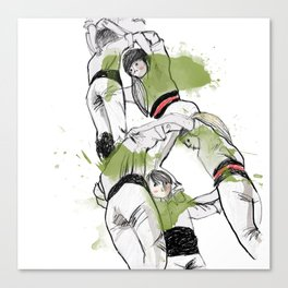 human towers Canvas Print