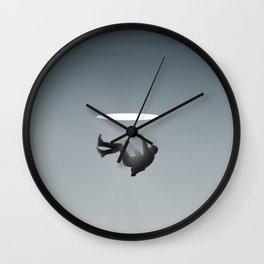 Uncanny Falls Wall Clock