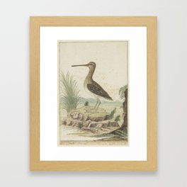 Snip in een gedetailleerd landschap, Robert Jacob Gordon, 1777 - 1786 Framed Art Print