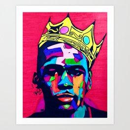 Notorious Jordan Art Print