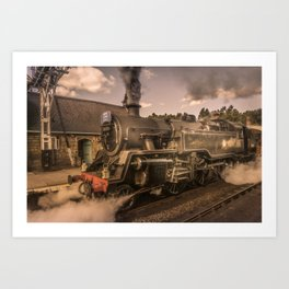 Whitby Express Art Print