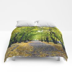 The yellow fall Comforters