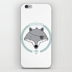 Mr. Wolf iPhone & iPod Skin