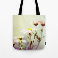 blush Tote Bags featuring Blush by Sandra Arduini