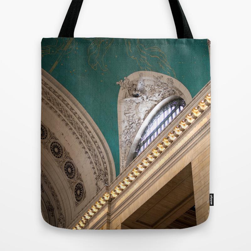 New York Grand Central Station Tote Bag by Savannahsmiled TBG7830103