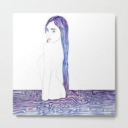Water Nymph XXIX Metal Print
