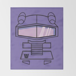 Transformers - Shockwave Throw Blanket